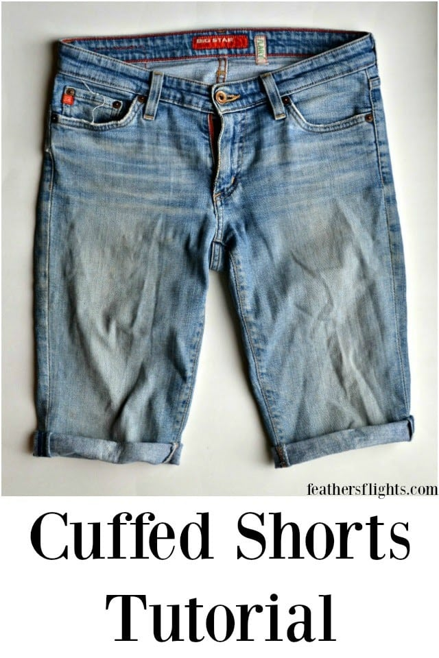 How to Hem Shorts with a Cuff