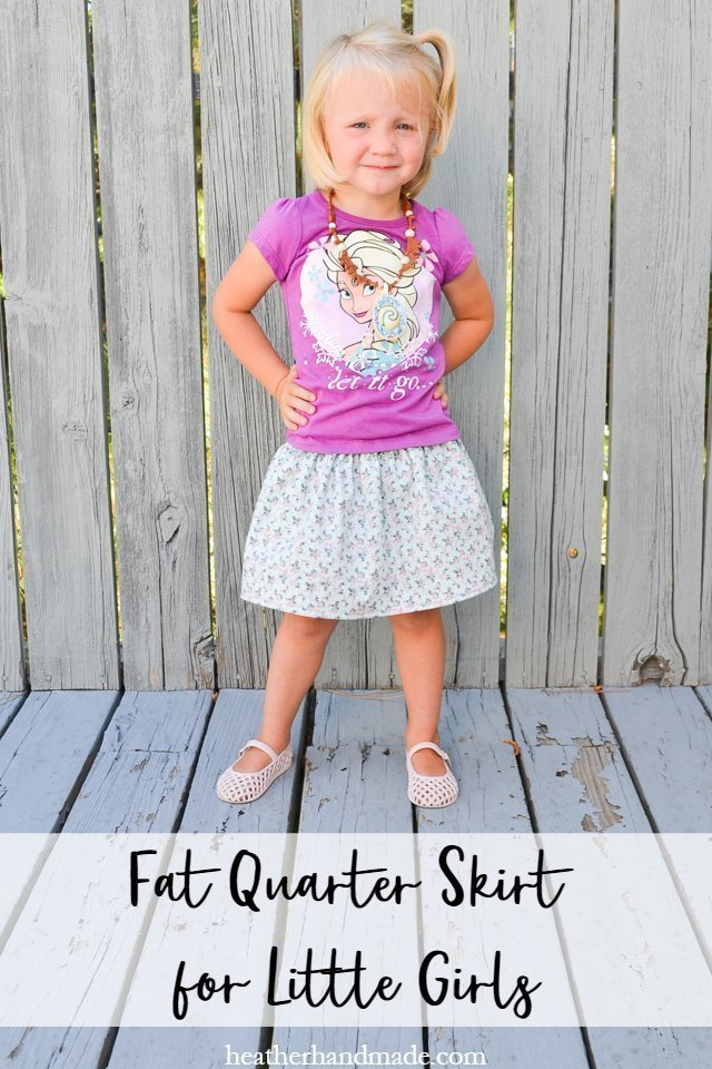 fat quarter skirt