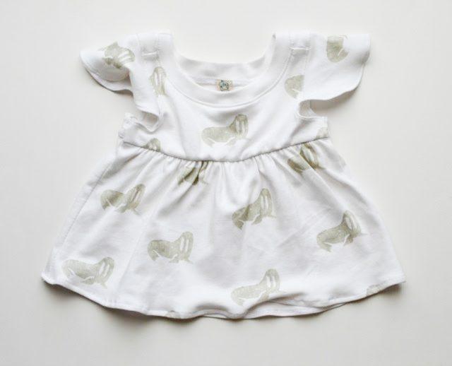 FREE 18 mos Babydoll Top Pattern