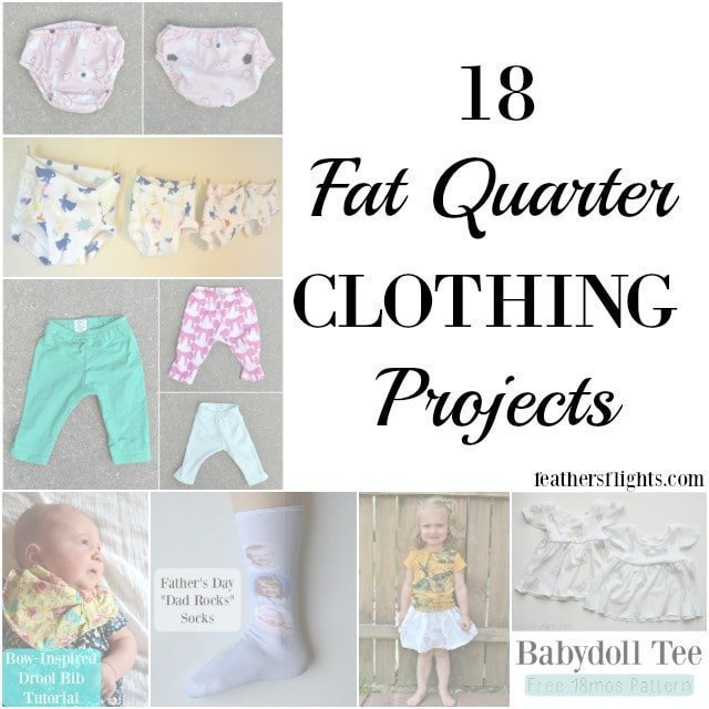 84add281021 18 Fat Quarter CLOTHING Projects • Heather Handmade