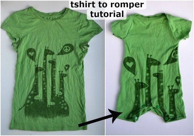 DIY T-Shirt Romper FREE PATTERN {Updated!}