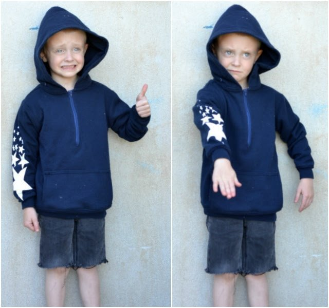 Sewing for the Boy: How to Upcycle a Sweatshirt