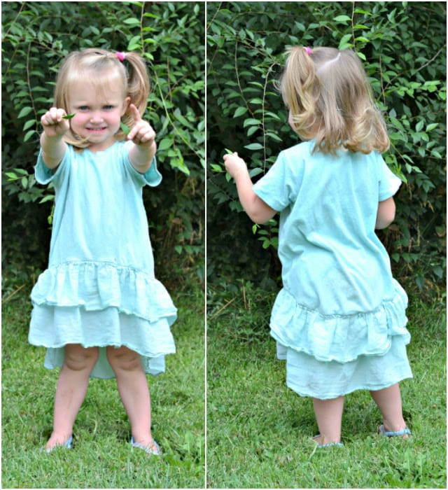 Sewing for the Girl: Ruffled Briar Dress
