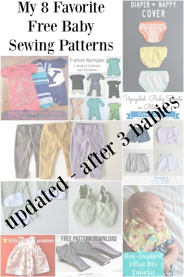 My 8 Favorite FREE Baby Sewing Patterns: 2016 - Heather Handmade