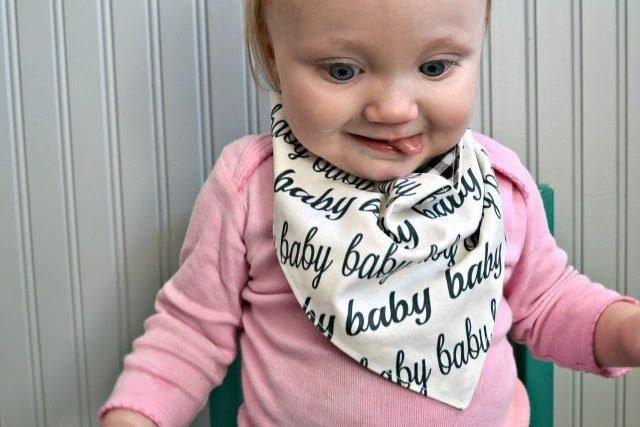 BABY Snap-Tape BIb Pattern