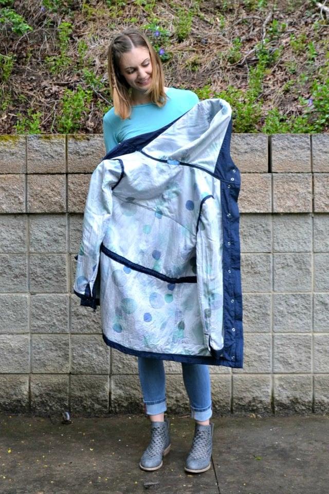 Me Made: Waterproof Kelly Anorak