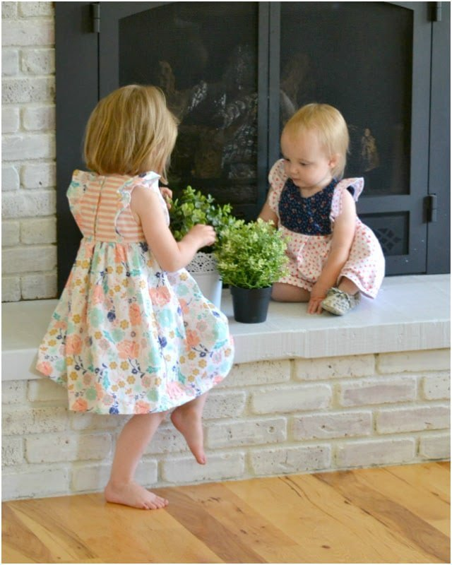 Sewing for the Girl: Floral Girls' Dresses