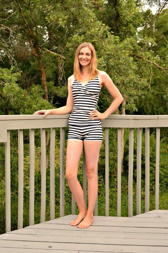 Me Made: Striped Tankini // Rad Patterns First Crush Swimsuit