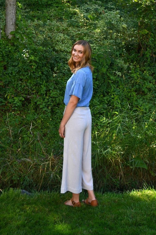 Me Made: Striped Flint Pants