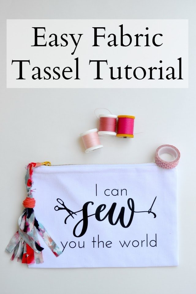 How to Make an Easy Fabric Tassel