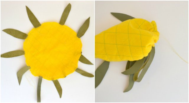 TUTORIAL: How To Make A Pineapple Keychain