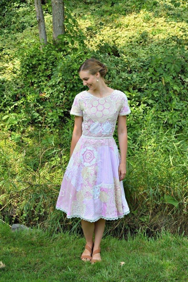 DIY Doily Dress