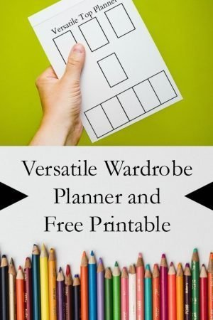 Wardrobe Planning Free Printable // heatherhandmade.com