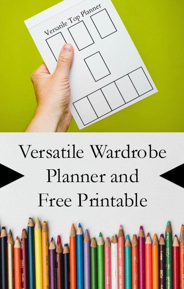 Wardrobe Planning Free Printable // heatherhandmade.com
