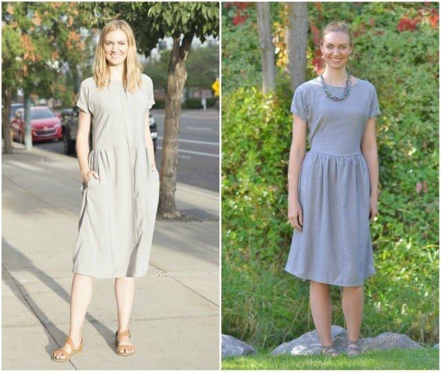 Rayon Linen Lacey Dress: The Dress I Redid Three Times