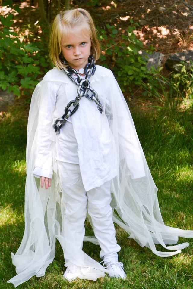 handmade ghost costume