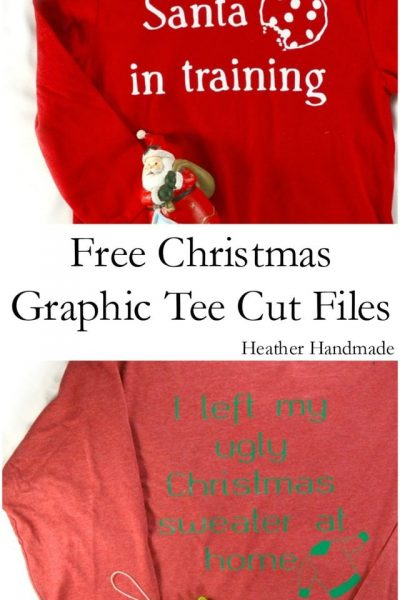 Free Christmas Cut Files - Heather Handmade