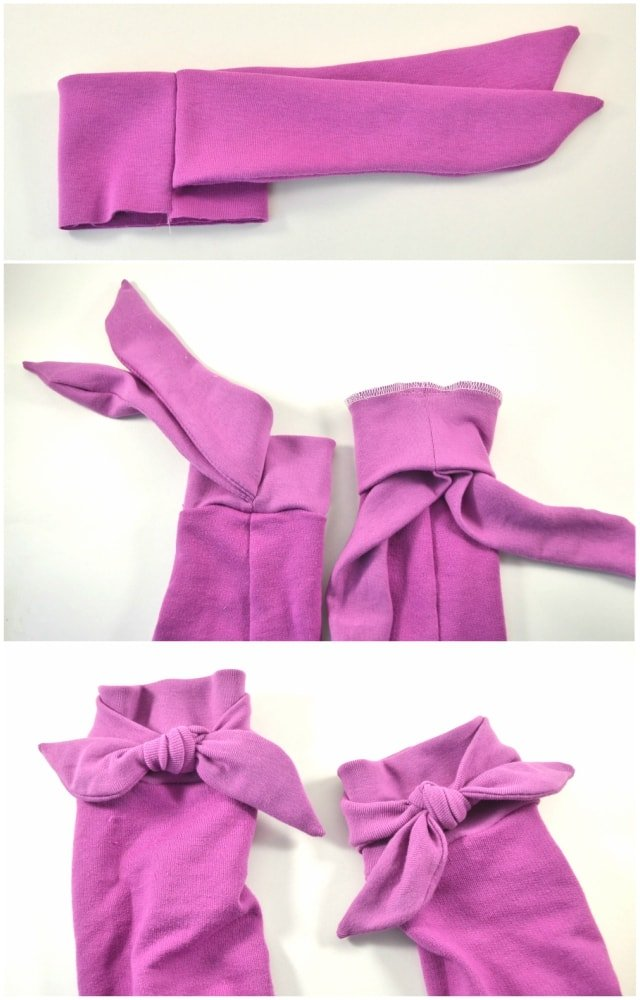 How to Sew Bow Cuffs - Heather Handmade