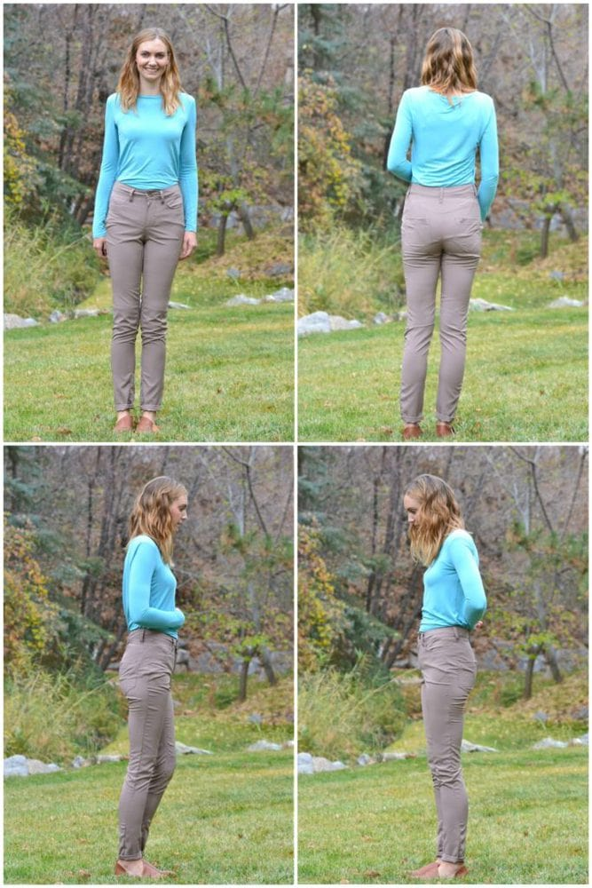 Liana Stretch Jeans - Heather Handmade