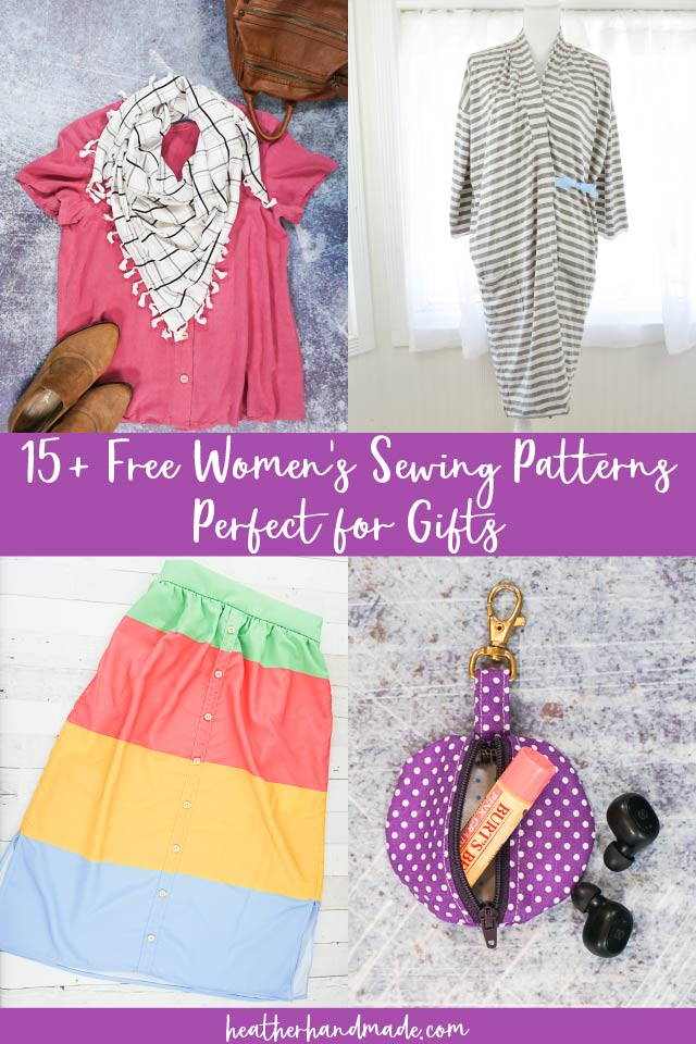 27 Gifts to Sew for Women
