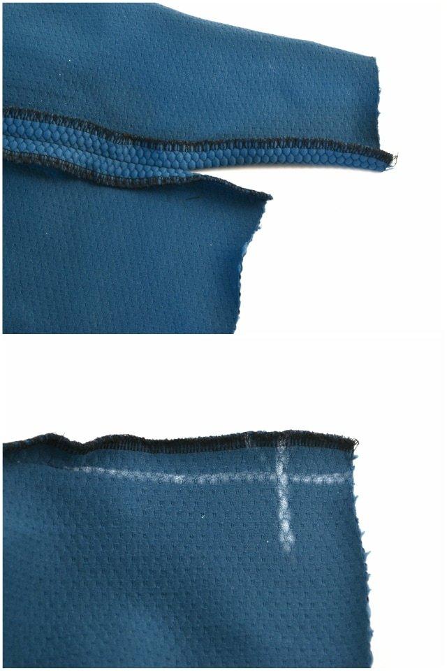 How to Sew a Split Hem with Mitered Corners - Heather Handmade