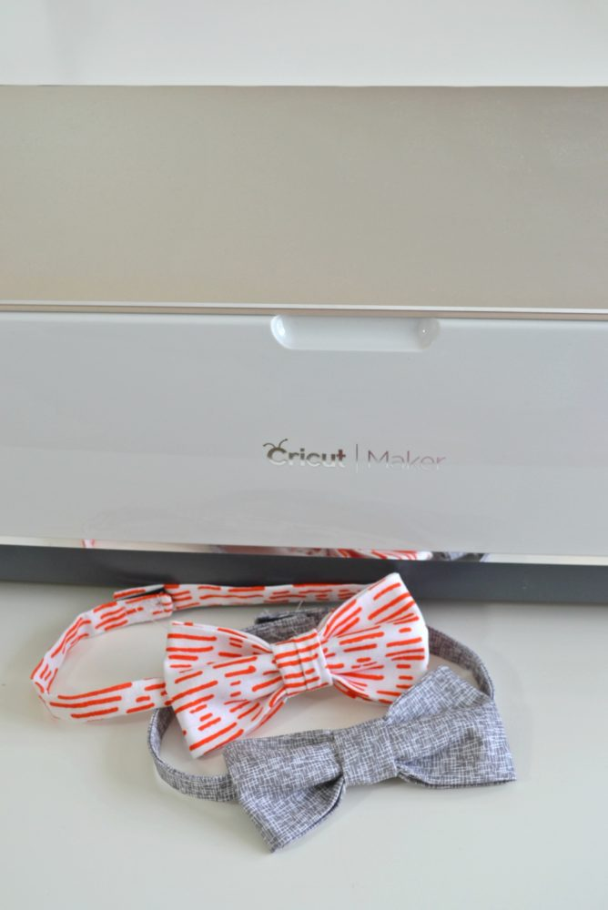 How to Make a Bowtie with the Cricut Maker - heatherhandmade.com