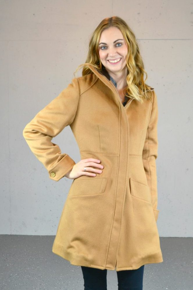 Refashioned Wool Pepernoot Coat // heatherhandmade.com