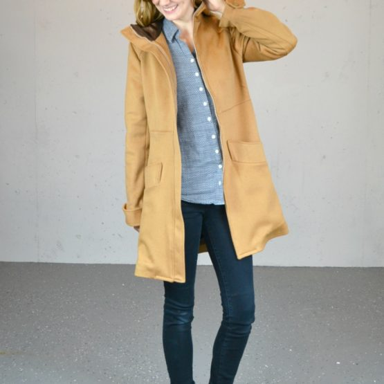 Refashioned Wool Pepernoot Coat // heatherhandmade.com