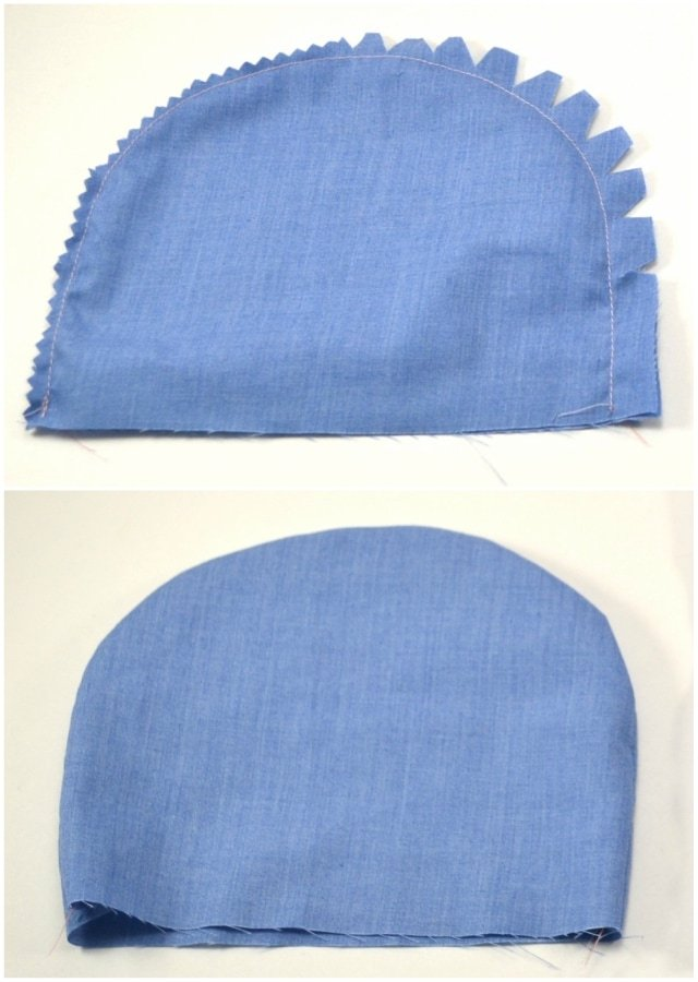 How to Sew Curves: Clipping v Notching // heatherhandmade.com