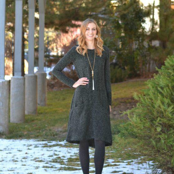Me Made: Striped Boucle Farrow Dress // heatherhandmade.com