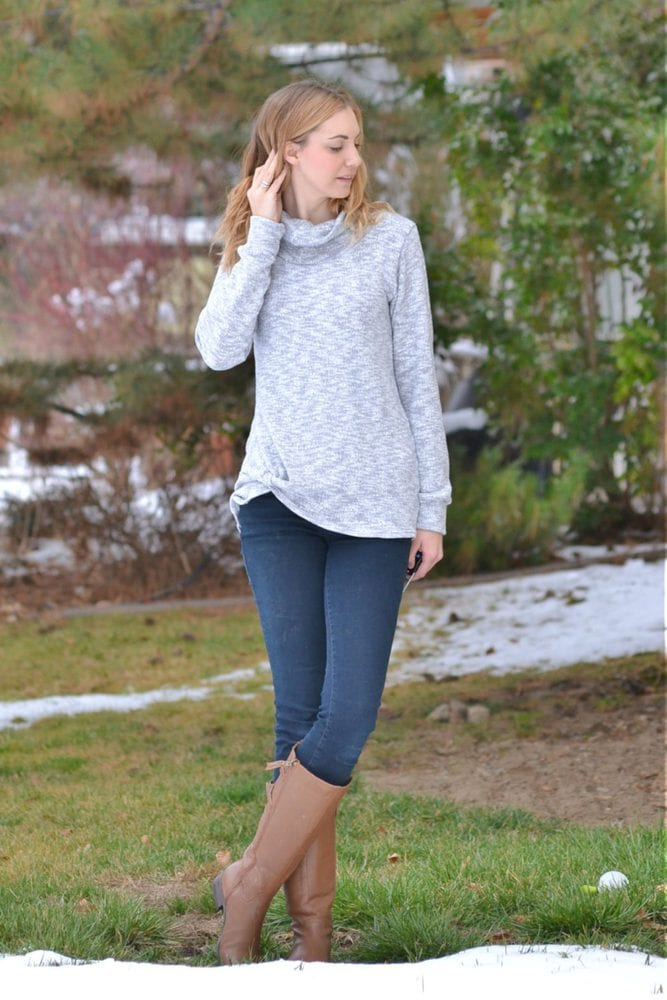 Harbor Knot Sweater // heatherhandmade.com