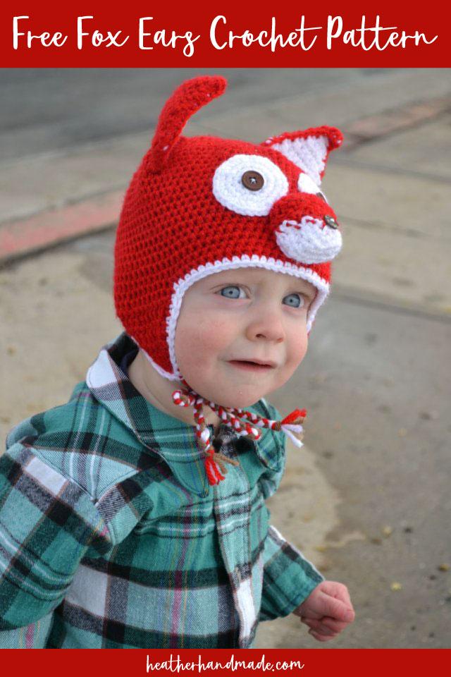 Free Fox Ears Crochet Pattern