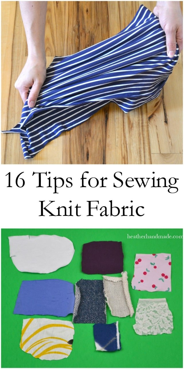 How to Sew Knits: 16 Tips for Sewing Knit Fabric