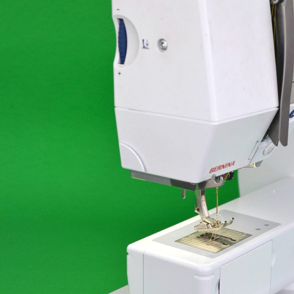 check for sewing machine foot pressure