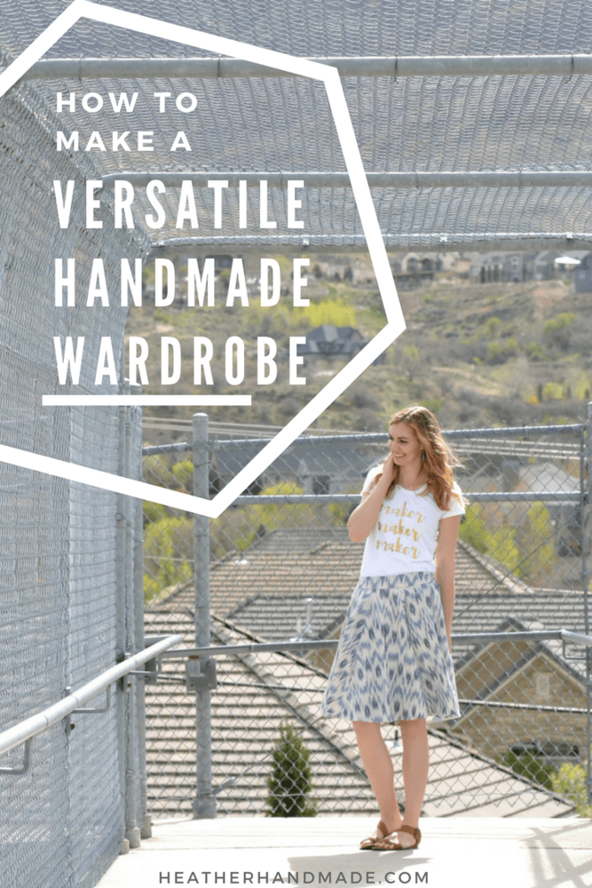 How to Make a Versatile Handmade Wardrobe + Free Printable