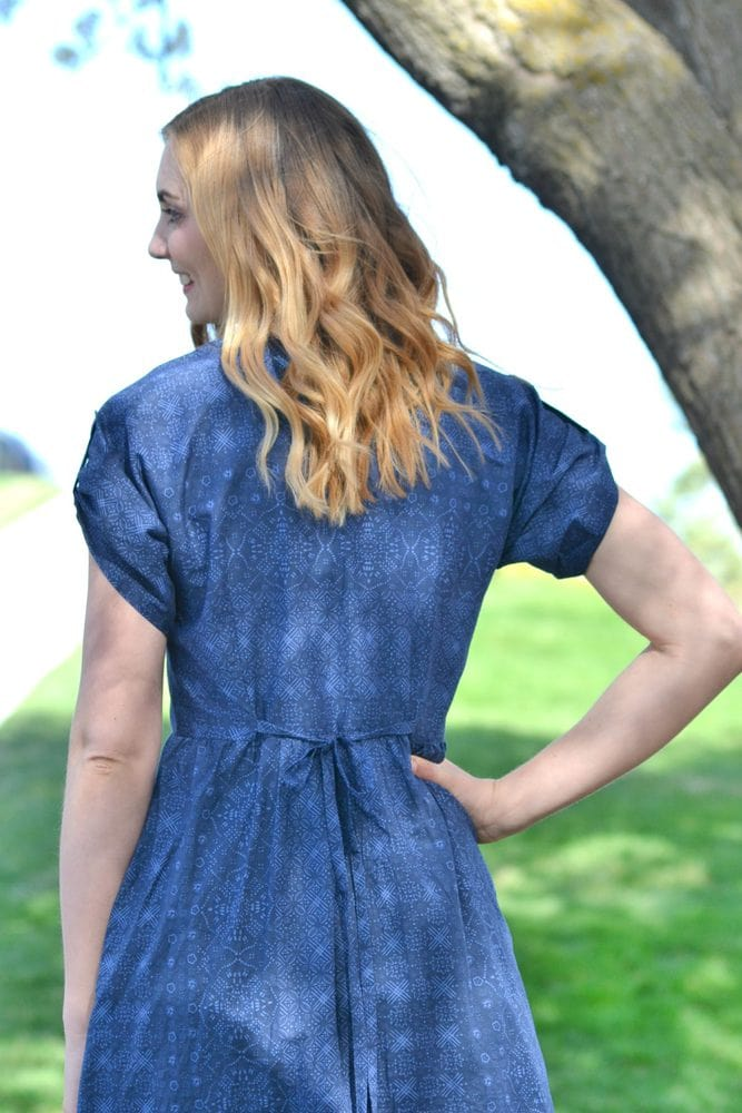 Liberty London Fringe Dress Pattern // heatherhandmade.com