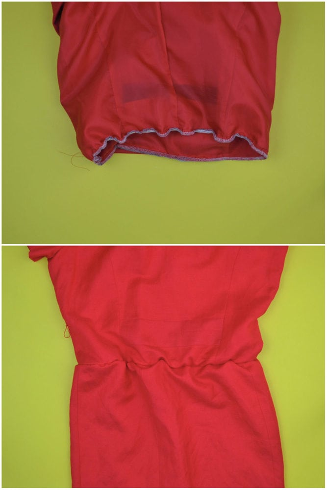 Vintage Dress Refashion Tutorial // heatherhandmade.com