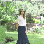 How to Hem Lace + a Lace Trumpet Skirt