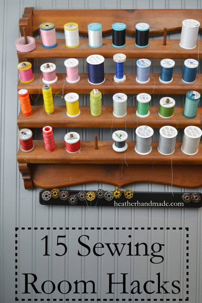 15 Sewing Room Hacks