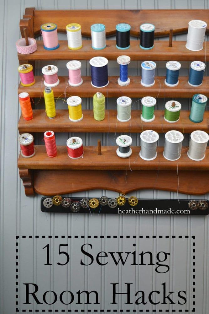 15 Sewing Room Hacks