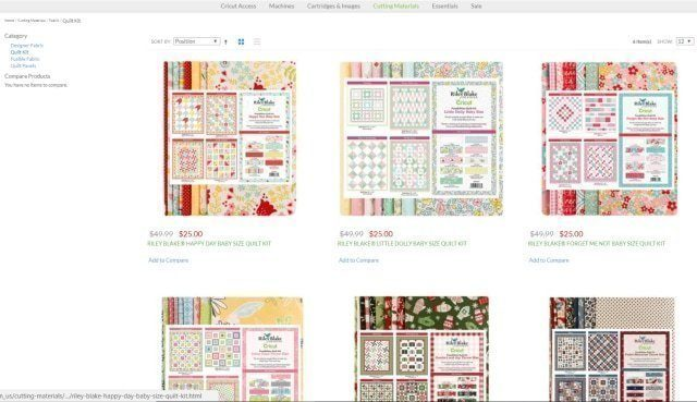 How to Plan a Quilt with Cricut and Riley Blake // heatherhandmade.com