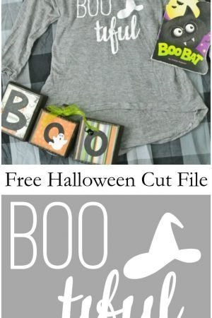 Free Witch Cut File // heatherhandmade.com