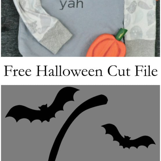 Free Bat Cut File // heatherhandmade.com