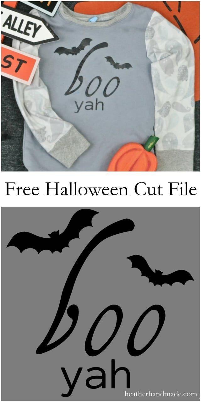 Free Bat Cut File // heatherhandmade.com