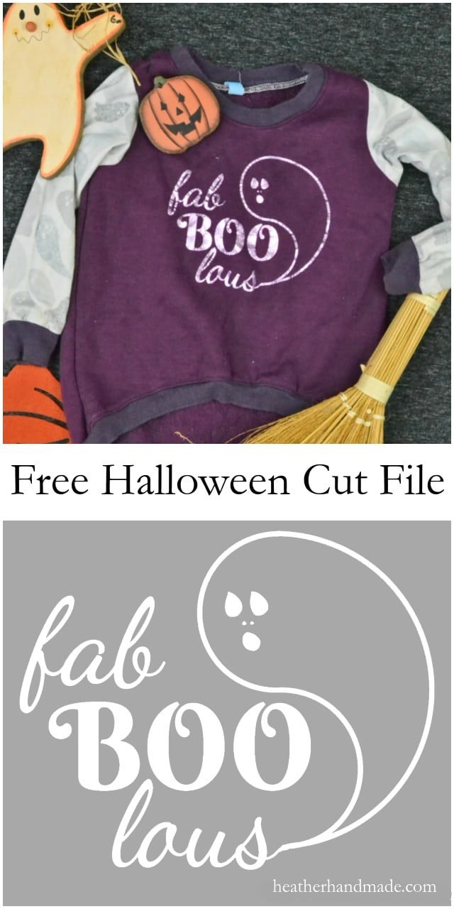 Free Ghost Cut File // heatherhandmade