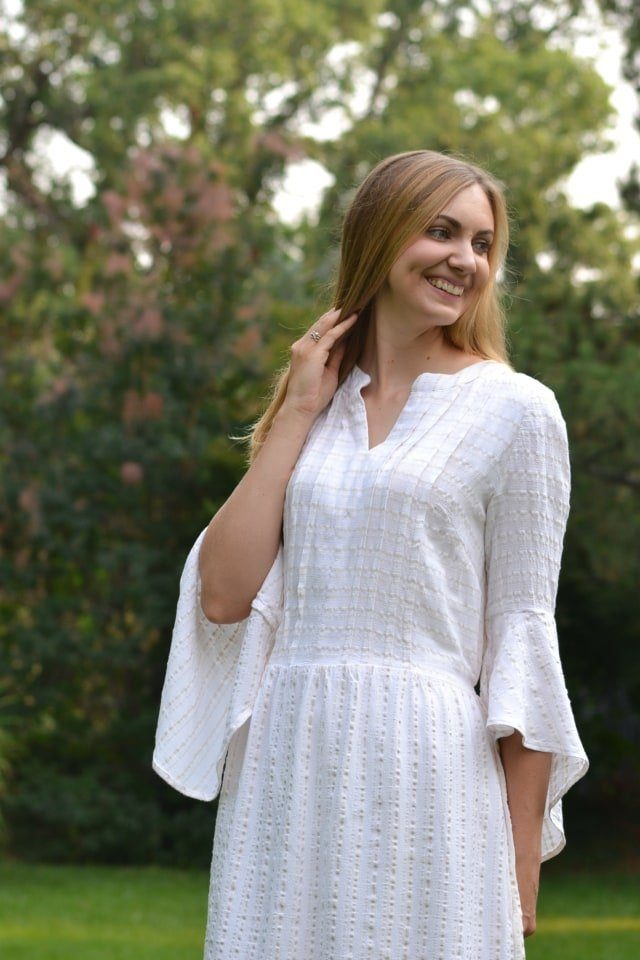 How to Sew Pintucks + Simplicity 8551 // heatherhandmade.com