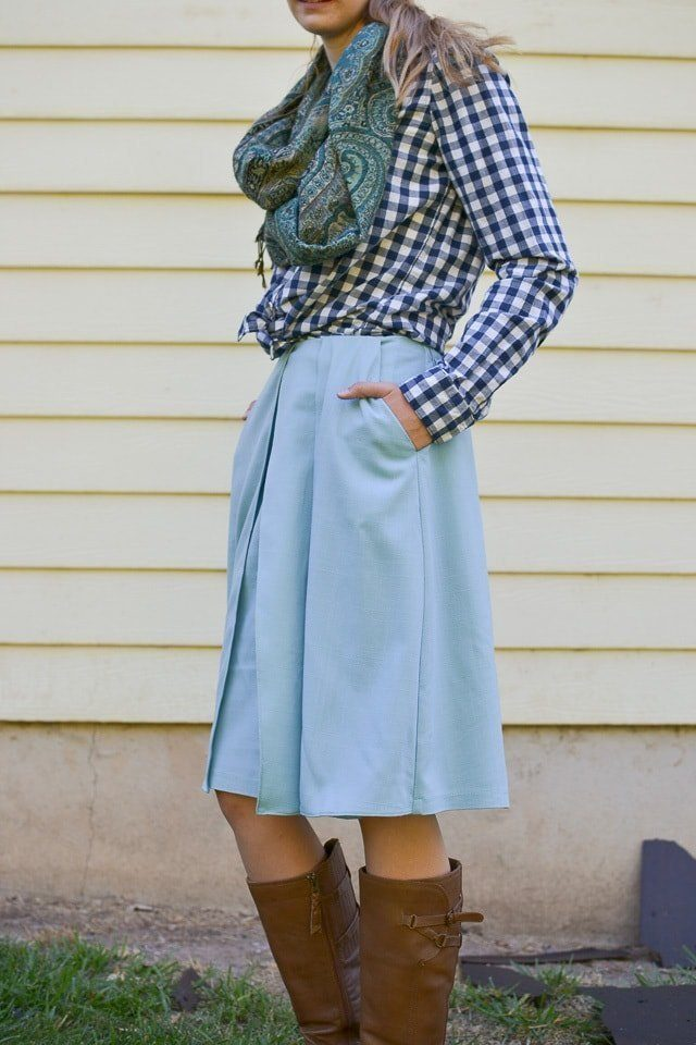 Harper Sewing Pattern Skirt Hack