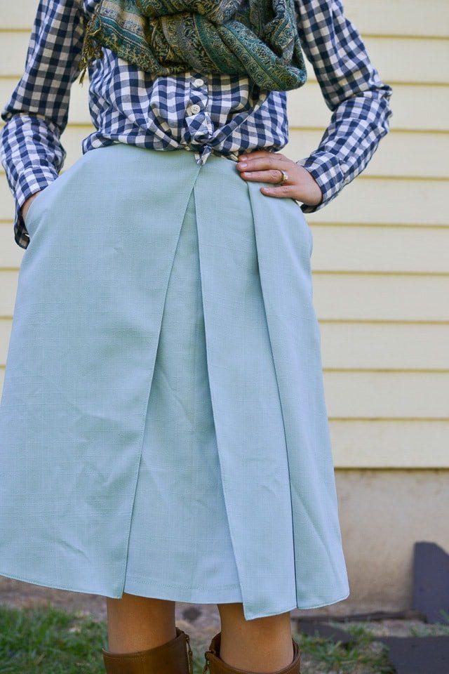 Harper Sewing Pattern Skirt Hack