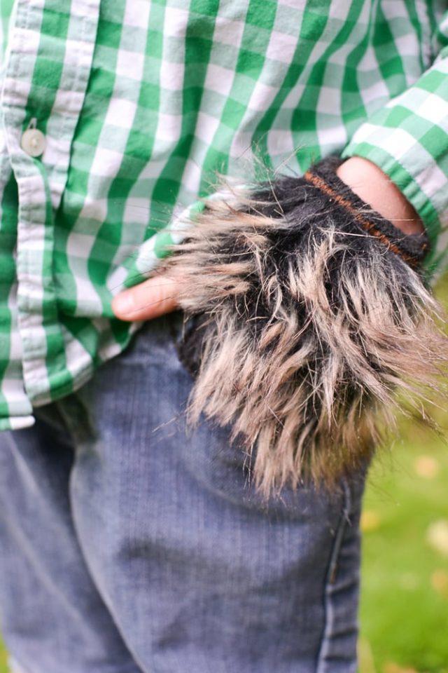 Easy DIY Werewolf Costume // heatherhandmade.com