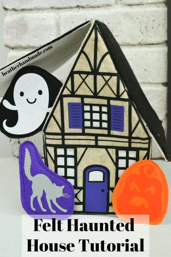 Felt Haunted House Tutorial for Kids